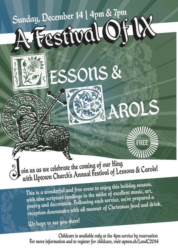 uptown lessons carols 2